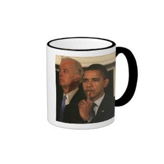 President Barack Obama and Vice President Ringer Mug