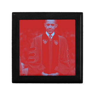 President Barack Obama at Notre Dame University 2. Small Square Gift Box