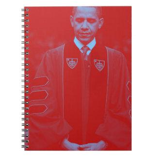 President Barack Obama at Notre Dame University 2. Spiral Notebook