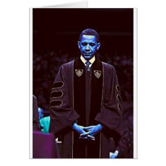 President Barack Obama at Notre Dame University 3. Card