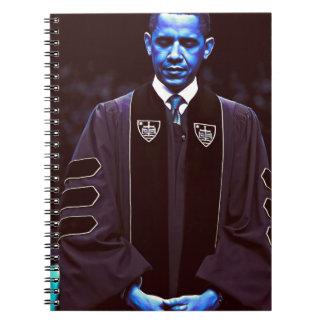 President Barack Obama at Notre Dame University 3. Notebooks