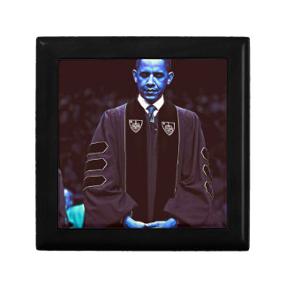 President Barack Obama at Notre Dame University 3. Small Square Gift Box