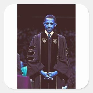 President Barack Obama at Notre Dame University 3. Square Sticker
