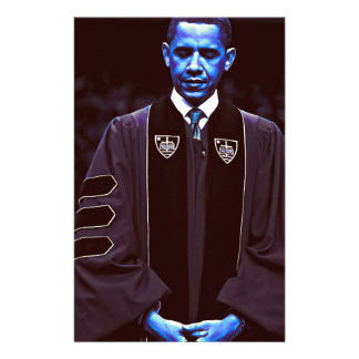 President Barack Obama at Notre Dame University 3. Stationery