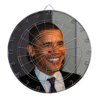 President Barack Obama Bullseye Dartboard