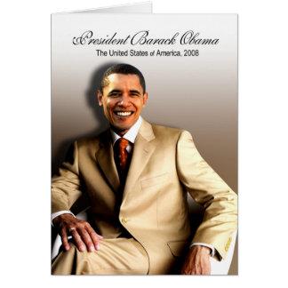 President Barack Obama (Classic) Greeting Card
