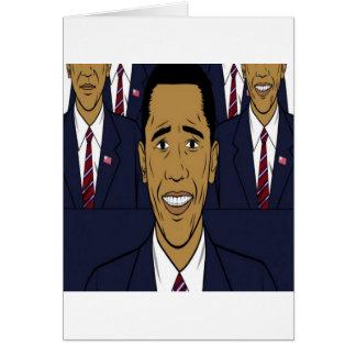 President Barack Obama design Card