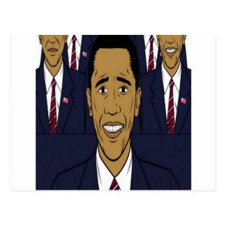 President Barack Obama design Postcards