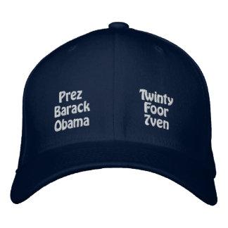 President Barack Obama Embroidered Cap