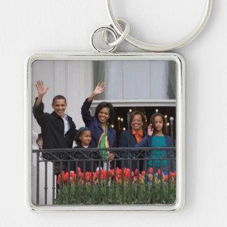 President Barack Obama Family Keychain