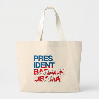 PRESIDENT BARACK OBAMA FASHION -.png Tote Bags