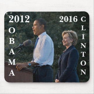 President Barack Obama Hillary Clinton Mouse Pads