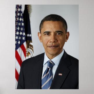 President Barack Obama in 2009 Poster