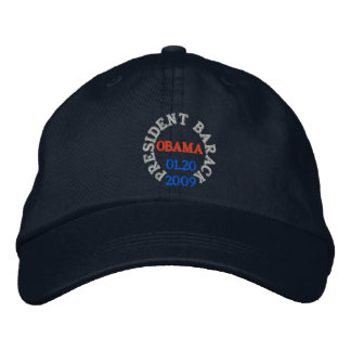 PRESIDENT BARACK OBAMA INAUGURATION HAT EMBROIDERED HAT