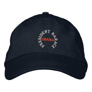 PRESIDENT BARACK OBAMA INAUGURATION HAT EMBROIDERED HATS