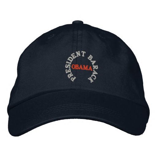 PRESIDENT BARACK OBAMA INAUGURATION HAT EMBROIDERED HATS