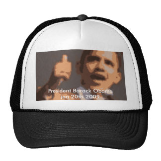 President Barack Obama jan 20th 2009 Trucker Hat