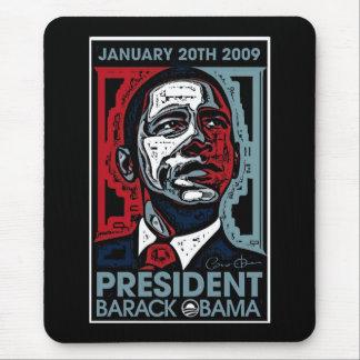 President Barack Obama January 20th 2009 Mouse Pad