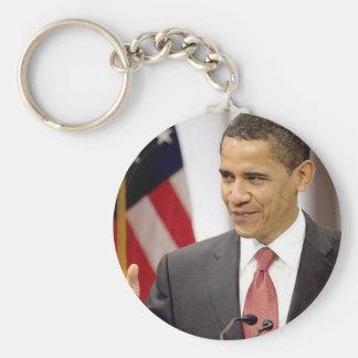 President Barack Obama Keychains