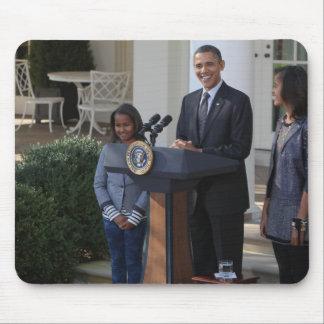President Barack Obama pardons the Mouse Pad