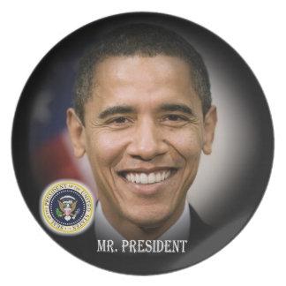 President Barack Obama Plates