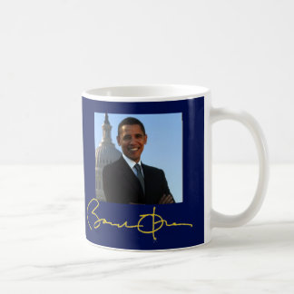 President Barack Obama Political Campaign Coffee Mug