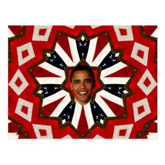 President Barack Obama,USA_ Post Card