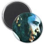 President Barack Obama Vintage 6 Cm Round Magnet