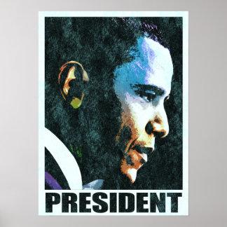 President Barack Obama Vintage Large Posters