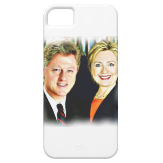 President Bill Clinton & President Hillary Clinton iPhone 5 Cases