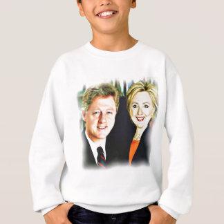 President Bill Clinton & President Hillary Clinton Sweatshirt