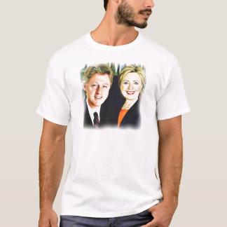 President Bill Clinton & President Hillary Clinton T-Shirt