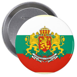 President Bulgaria, Bulgaria 10 Cm Round Badge