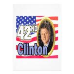 President Clinton Personalized Invitation