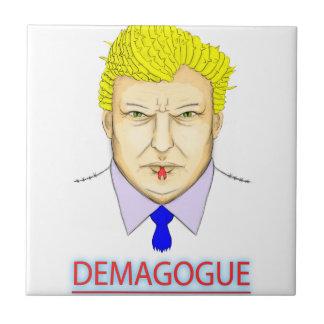 President Demagogue Ceramic Tile