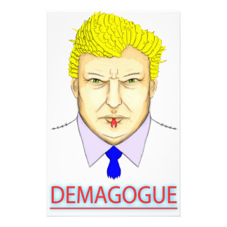 President Demagogue Stationery