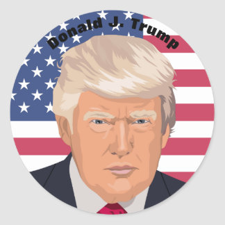 President Donald J. Trump Commemorative Sticker