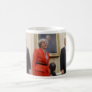 President Donald Trump & British PM Theresa May Coffee Mug