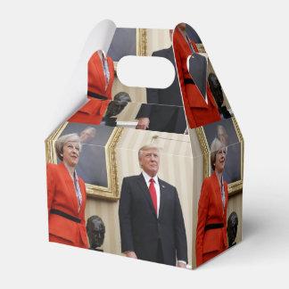 President Donald Trump & British PM Theresa May Favour Box