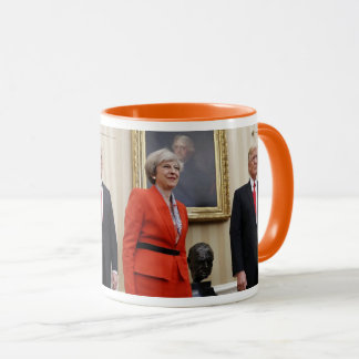President Donald Trump & British PM Theresa May Mug