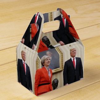 President Donald Trump & British PM Theresa May Party Favour Boxes
