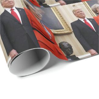 President Donald Trump & British PM Theresa May Wrapping Paper