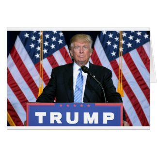 President Donald Trump Card