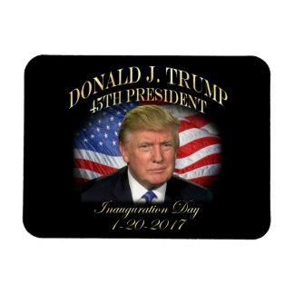 President Donald Trump Inauguration Commemorative Magnet