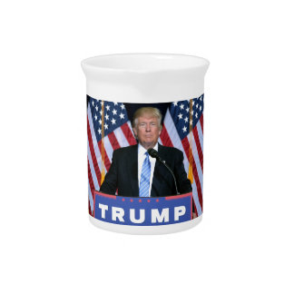 President Donald Trump Pitcher