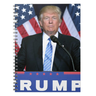 President Donald Trump Spiral Notebook