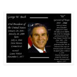 President George W Bush Post Cards