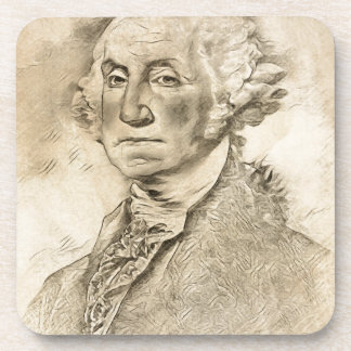 President George Washington Beverage Coasters