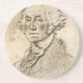 President George Washington Drink Coaster