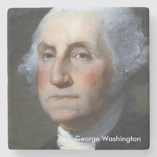 President George Washington Marble Coaster #1 Stone Coaster